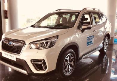 Seguridad y versatilidad hacen del Subaru Forester el coche ideal para las familias